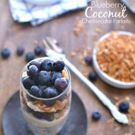 Blueberry Coconut Cheesecake Parfaits 5b