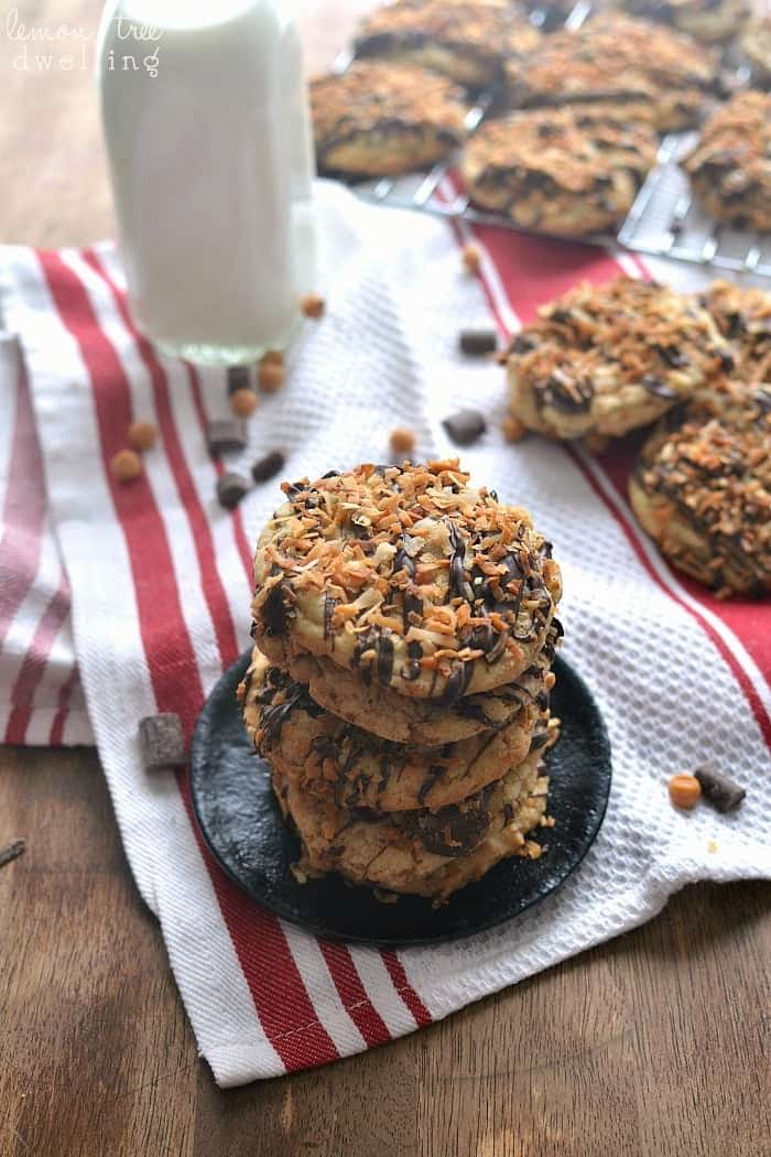 Samoa Cookies 4b