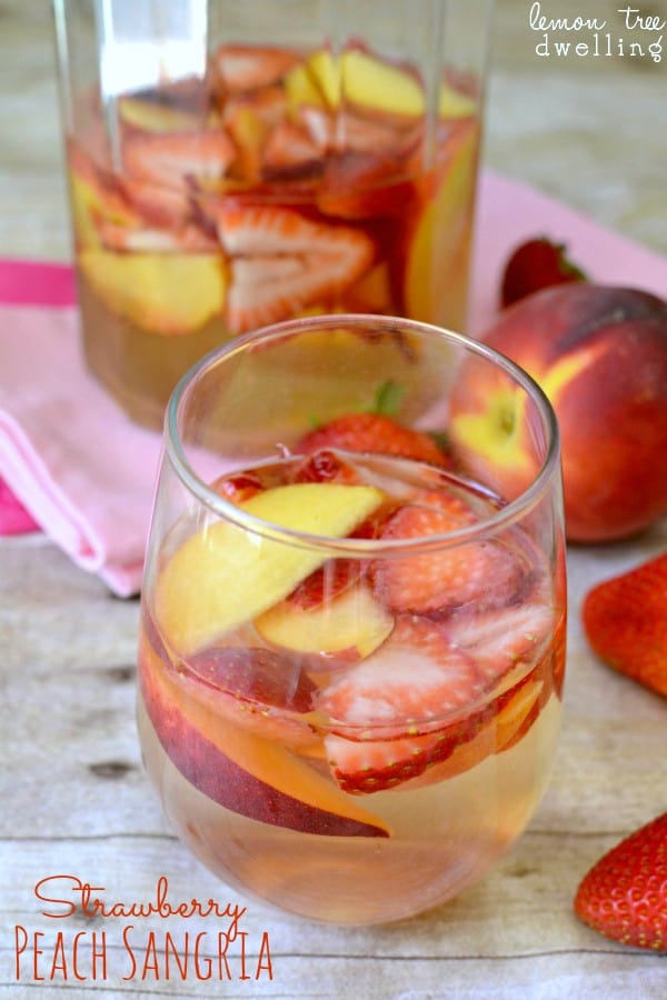 Strawberry Peach Sangria