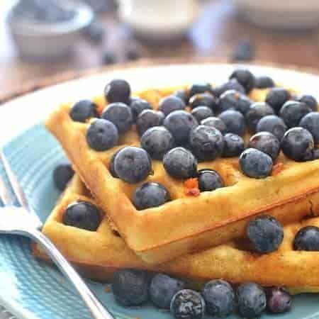 Blueberry Orange Waffles 3