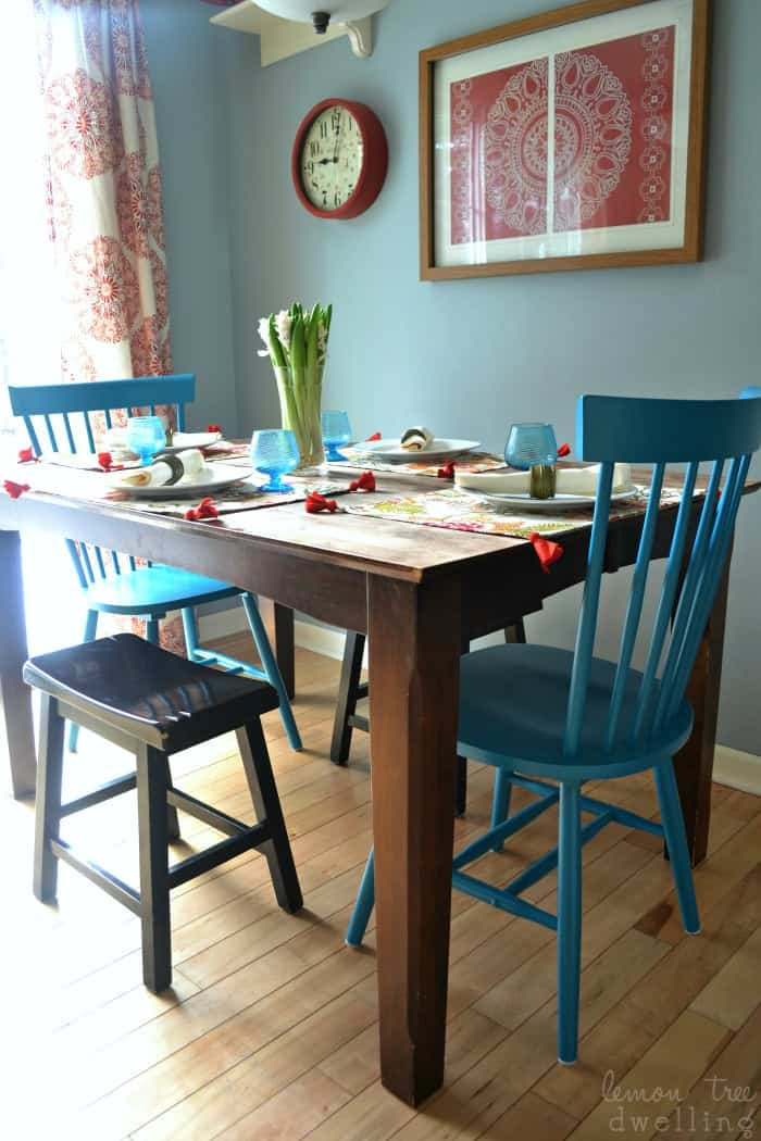 Affordable style and a mini kitchen makeover with Sauder furniture! #PutTogether #ad