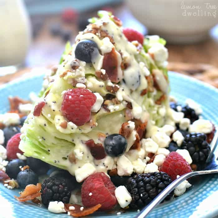 Berry Wedge Salad Square