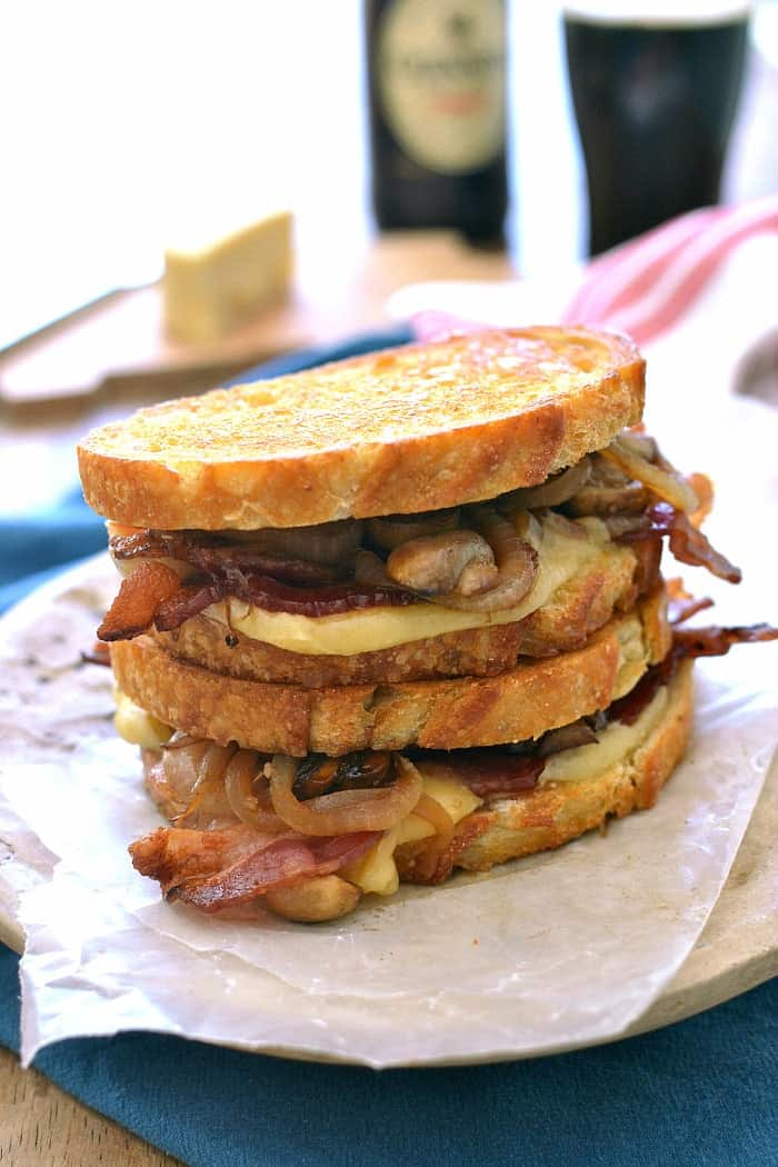 Mushroom Stout Grilled Cheese 1c