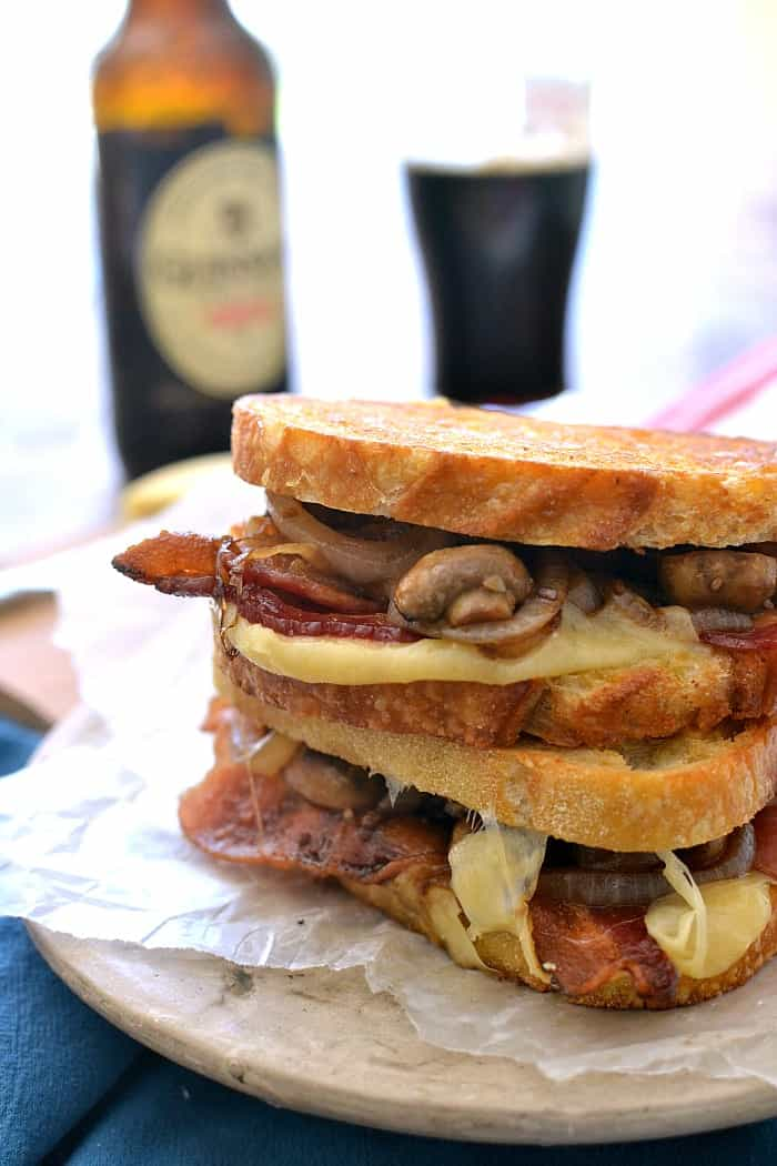 Mushroom Stout Grilled Cheese 4b