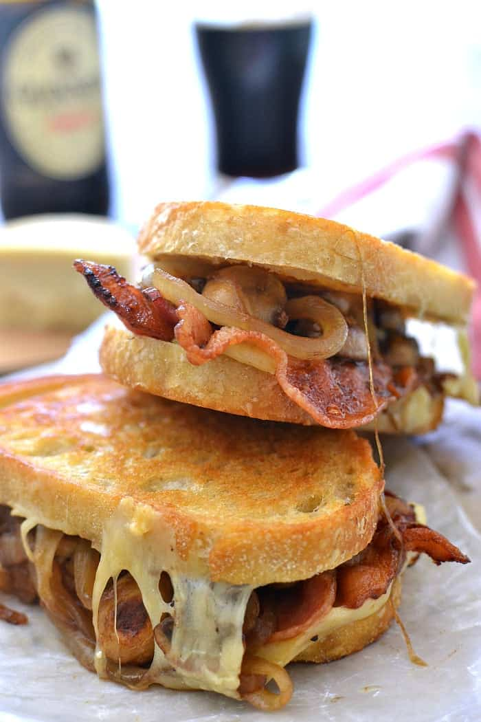 Mushroom Stout Grilled Cheese 6b