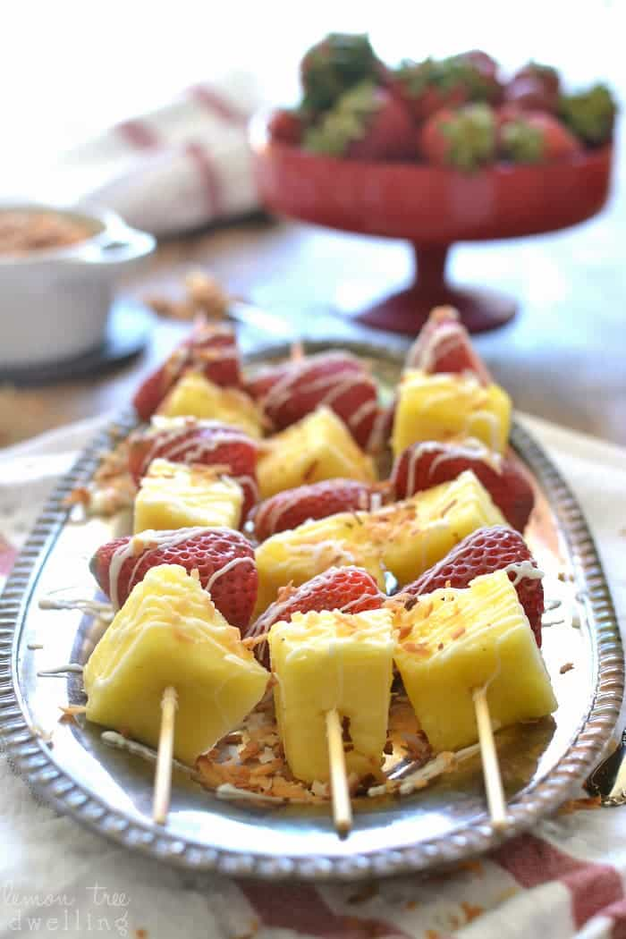 Strawberry Colada Kabobs 6