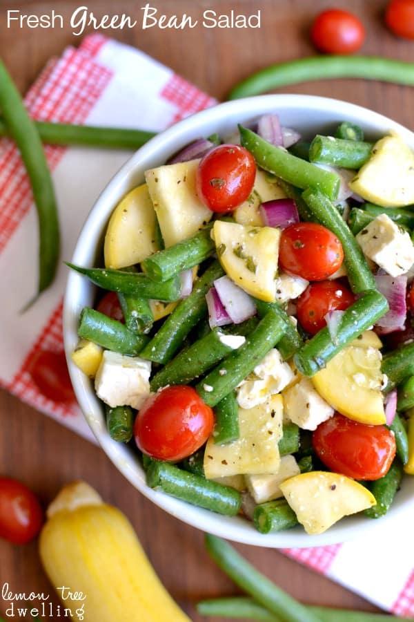 Fresh Green Bean Salad 5