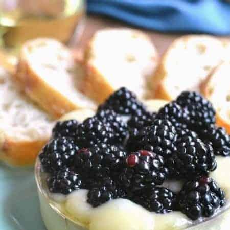 Blackberry Baked Brie 7b