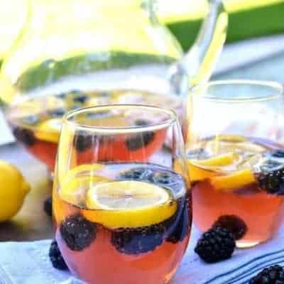 Lemon Blackberry Sangria