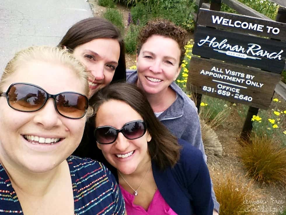Recap of Blogger Refresh Retreat in Carmel Valley, CA