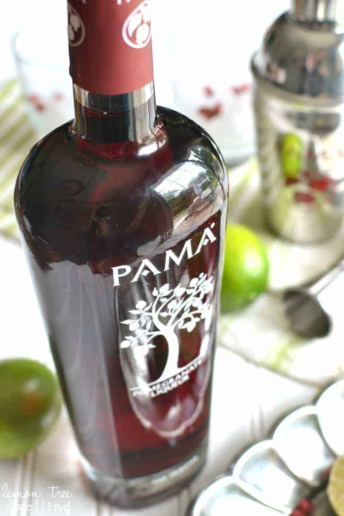Celebrating summer with PAMA Pomegranate Liqueur - and a PAMA party kit giveaway! #celebratesummer #contest #pama #ad