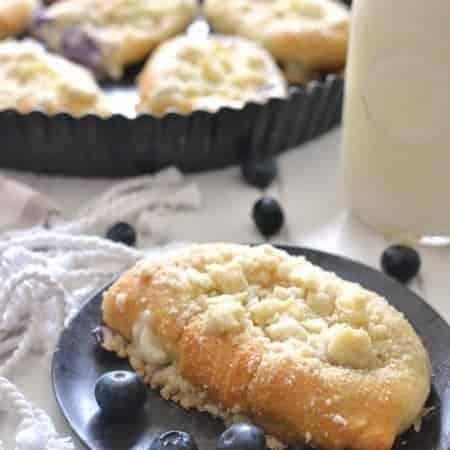 Blueberry Cheesecake Breakfast Danish 2b