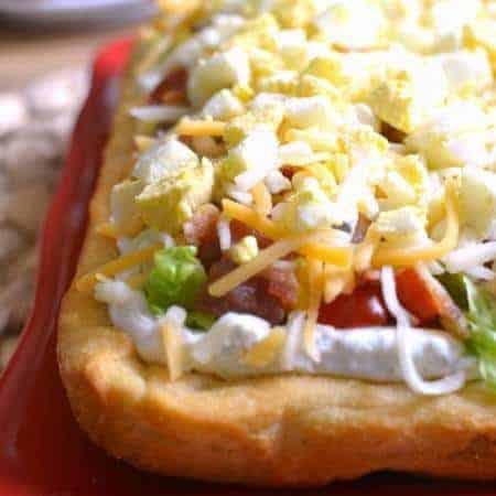 Cobb Crescent Roll Pizza 3d