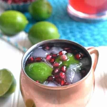 Pomegranate Moscow Mule 1d