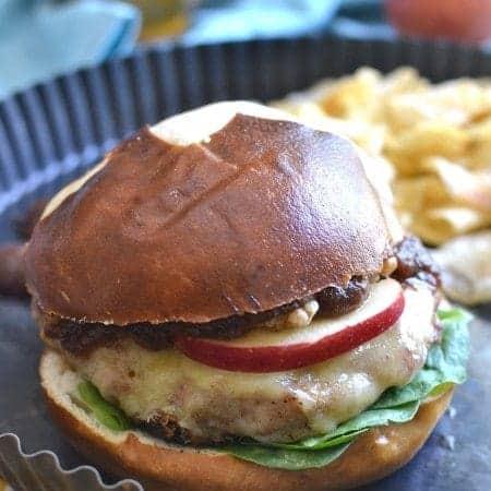 Cheddar Apple Turkey Burgers 2