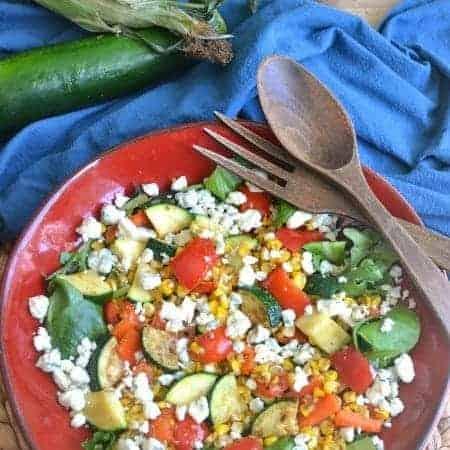 Grilled Vegetable Summer Salad 1