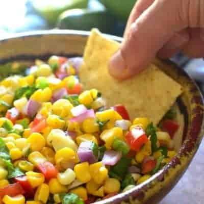 Fresh Corn Salsa