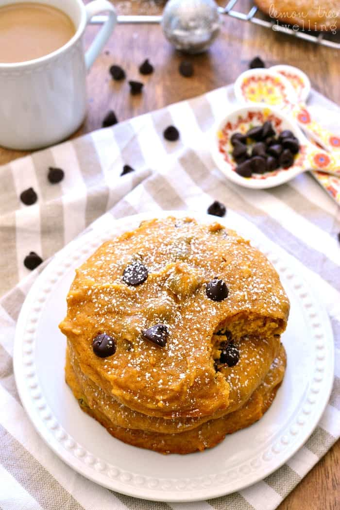 Pumpkin Chocolate Chip Muffin Tops 1e