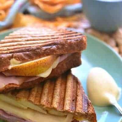 Ham & Pear Panini