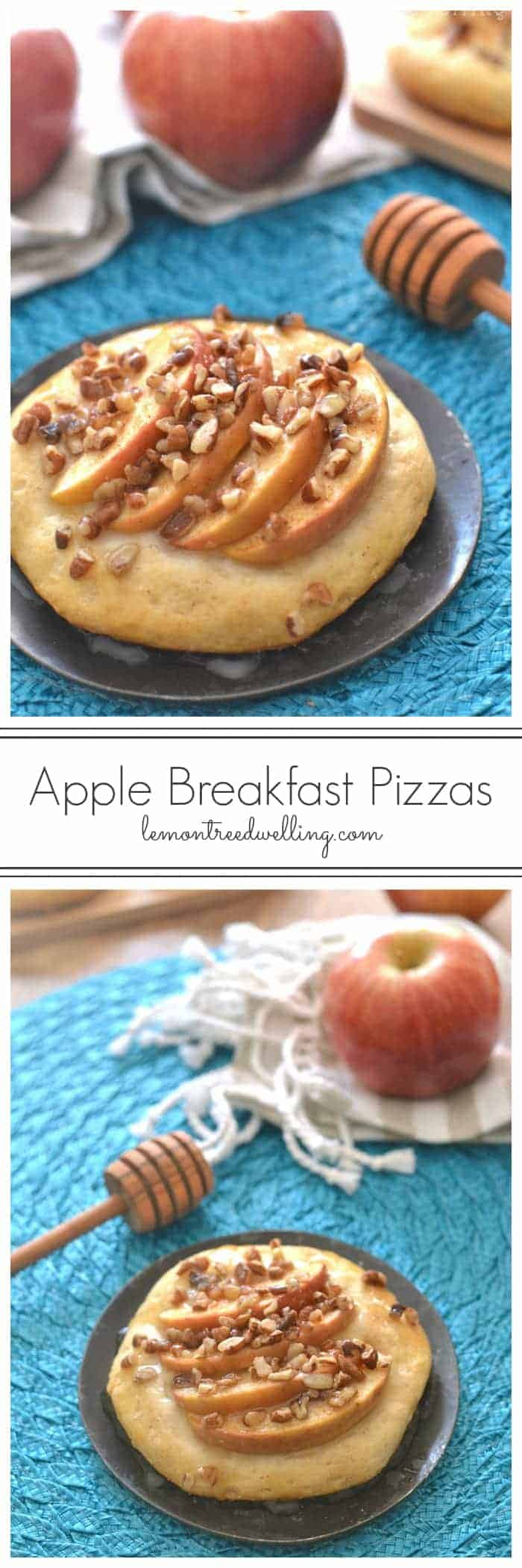 Easy Apple Breakfast Pizzas, vitafusion™ ImmuneWell, and our family's path to better health! #spon #SK