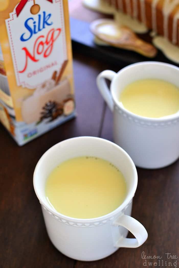 Silk Soy Nog - dairy free eggnog