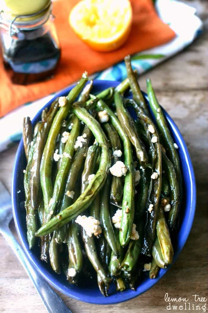 Balsamic Citrus Green Beans