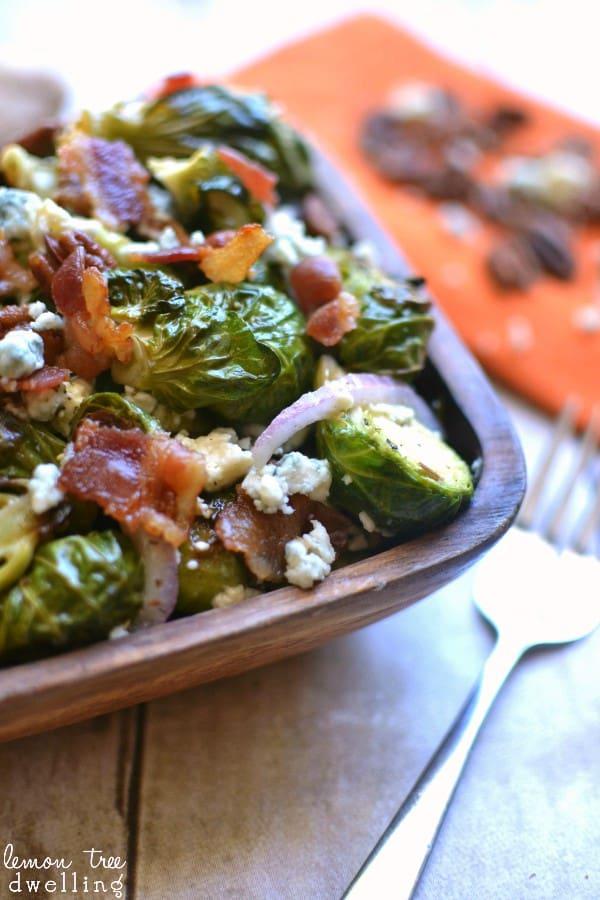 Harvest Brussel Sprout Salad