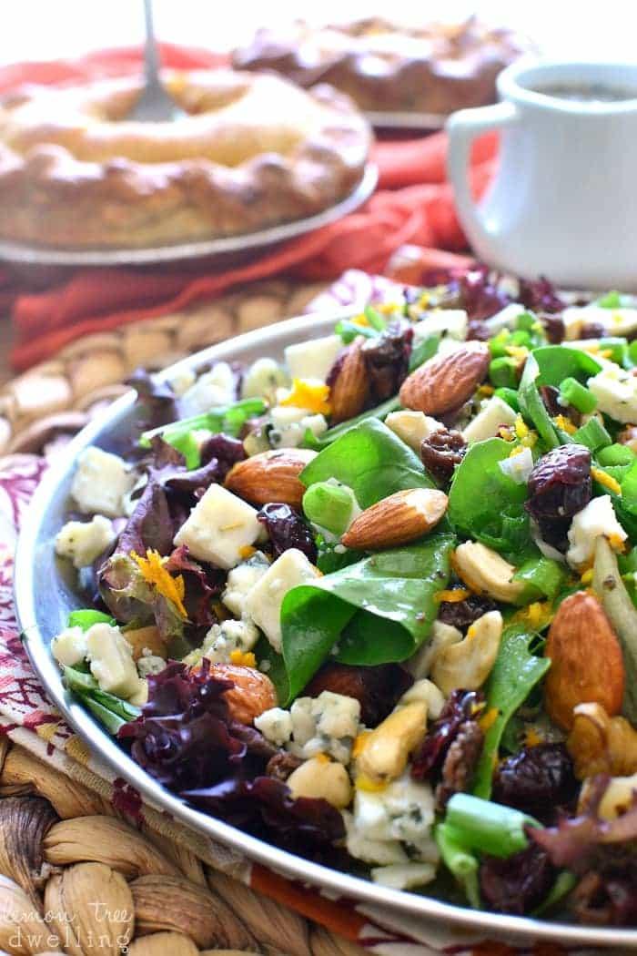 Cranberry Orange Harvest Salad
