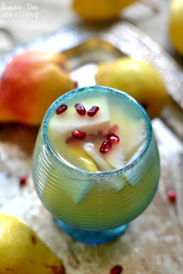 Pear Sangria