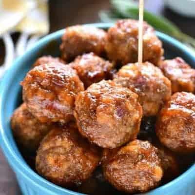 Turkey Cocktail Meatballs