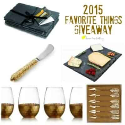 2015 Favorite Things Holiday Giveaway