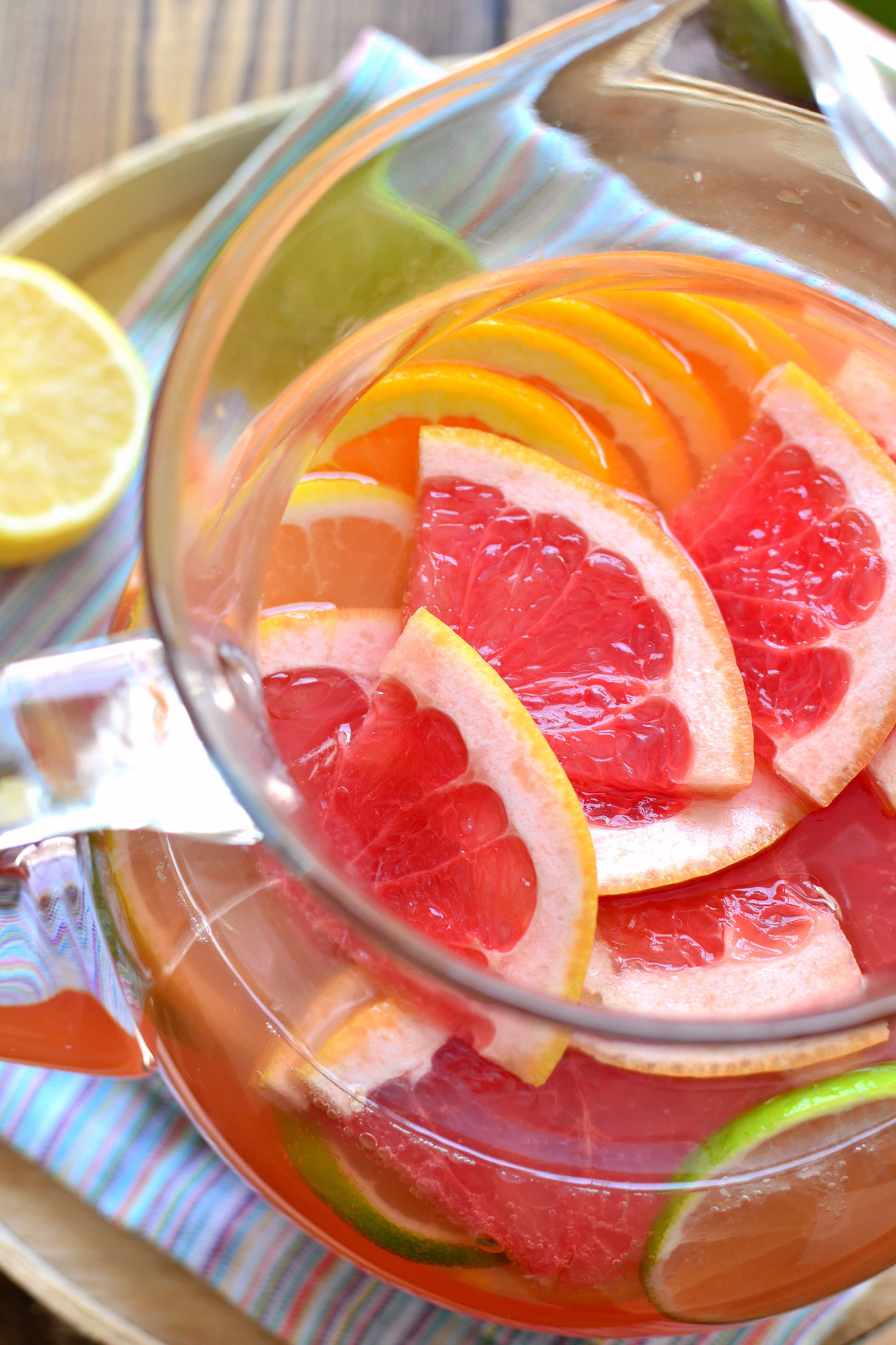 Citrus Sangria | Lemon Tree Dwelling