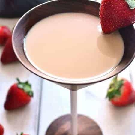 Chocolate Covered Strawberry Martini 3c