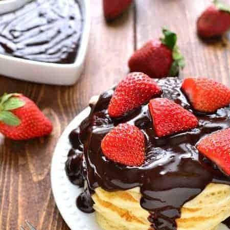 Chocolate Covered Strawberry Pancakes 6b