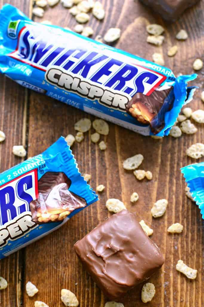 SNICKERS® Crispers - a lighter, crispier version of SNICKERS® that's equally satisfying and completely delicious!