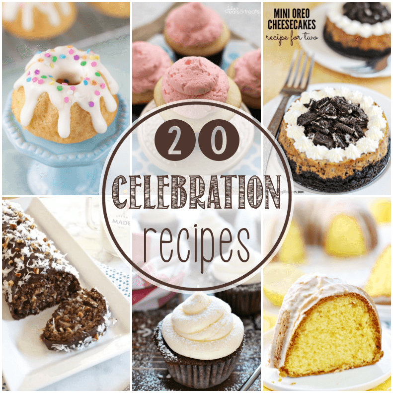 20 Dessert Recipes that are worthy of a celebration - and a $500 giveaway!