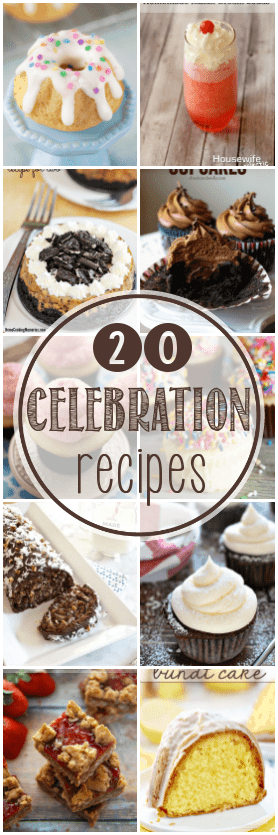 20 desserts that are worth of a celebration - and a $500 giveaway!