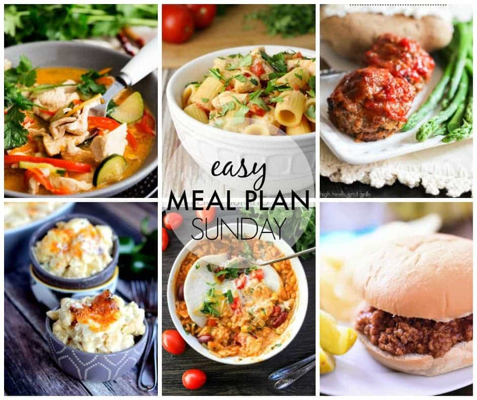 An entire week's worth of meals….all in one place! I'm joining together with 8 other bloggers to make your life easier! You're welcome.