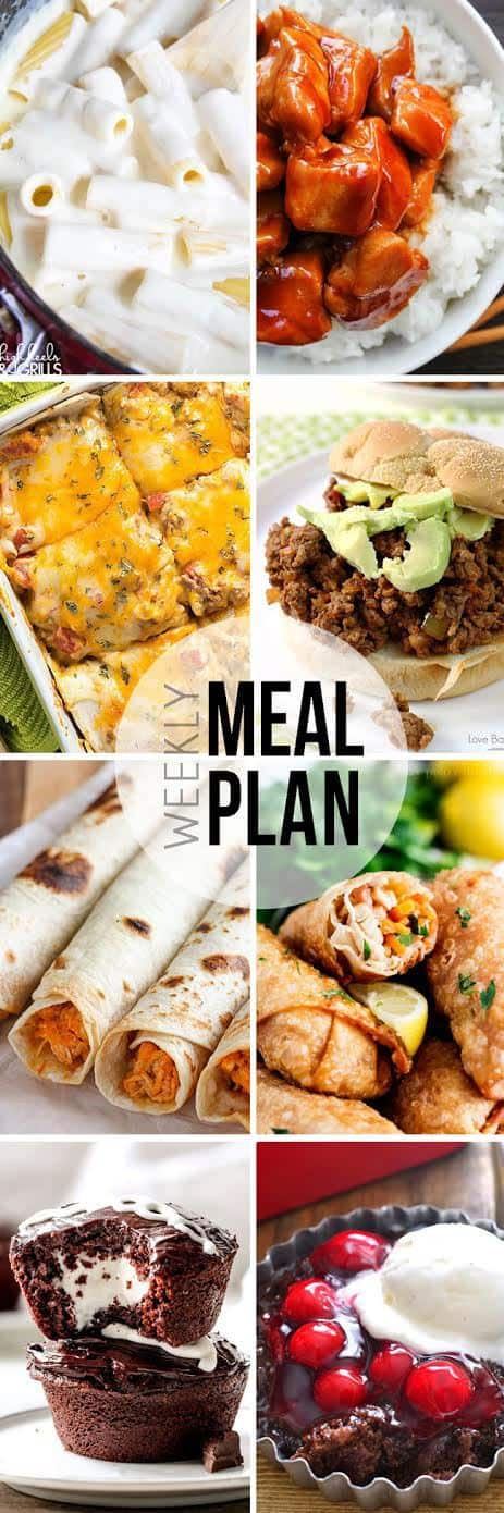 An entire week's worth of meals....all in one place! I'm joining together with 8 other bloggers to make your life easier!