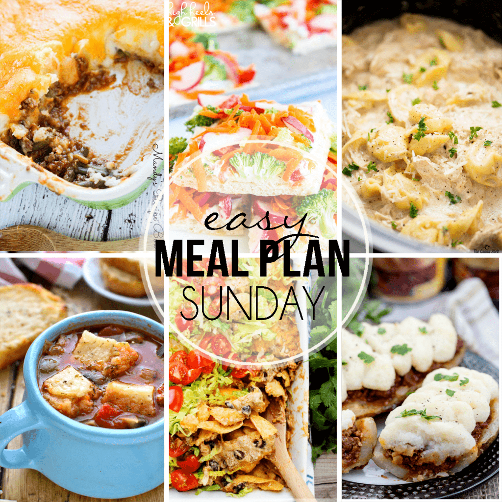 An entire week's worth of meals….all in one place!