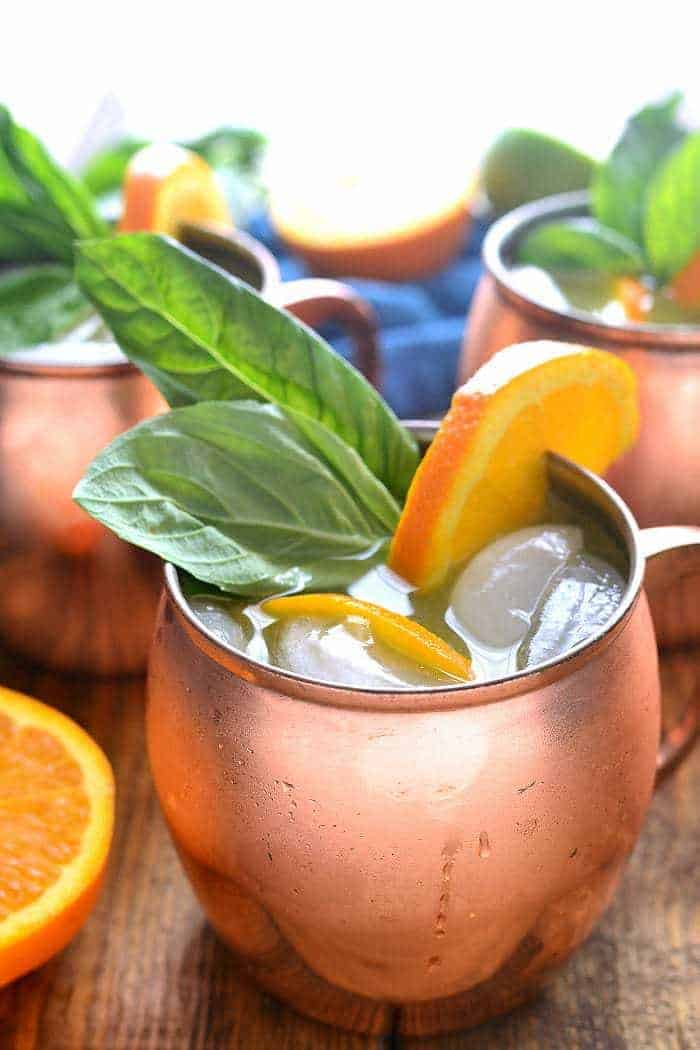 Orange Moscow Mules are a sweet and refreshing cocktail, combining orange juice, ginger, and a hint of lime. Make just one or, better yet, make a whole batch - these mules are ALWAYS a hit!