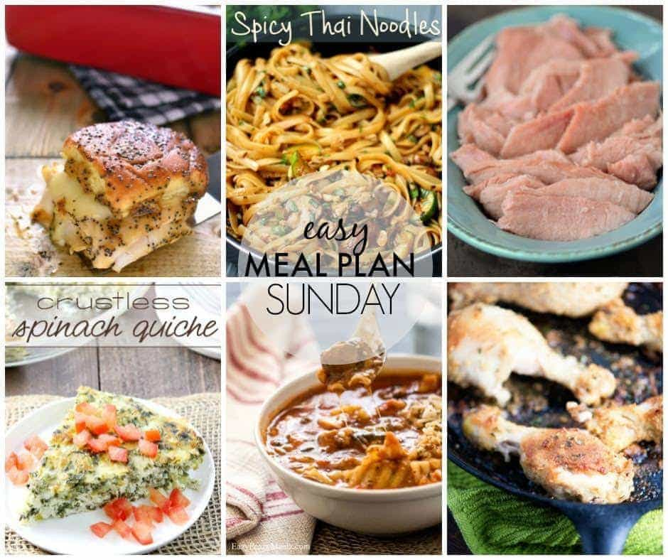 Meal Plan Week 37 FB
