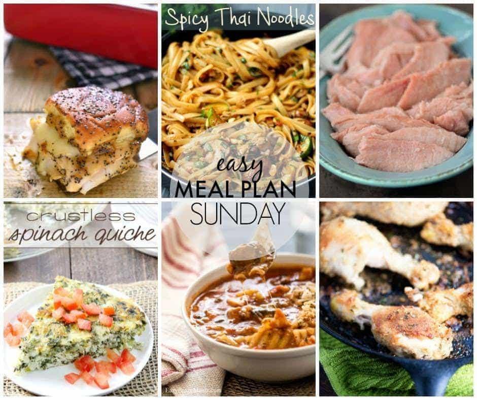 Meal Plan Week 37 FB