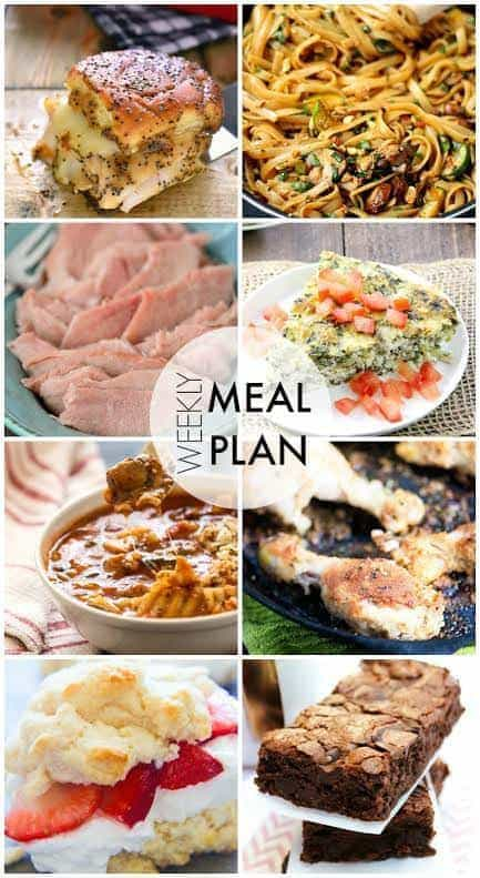 Another week's worth of recipes....all in one place! Guaranteed to make your life easier and your week better!