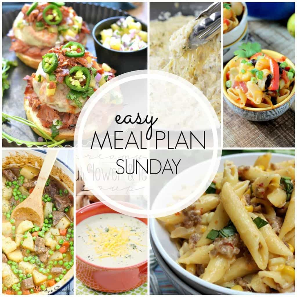 Everything you need for a week's worth of meals...all in one place! Guaranteed to make your week easier!