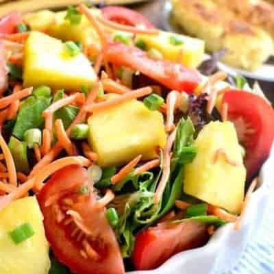 Pineapple Crunch Salad
