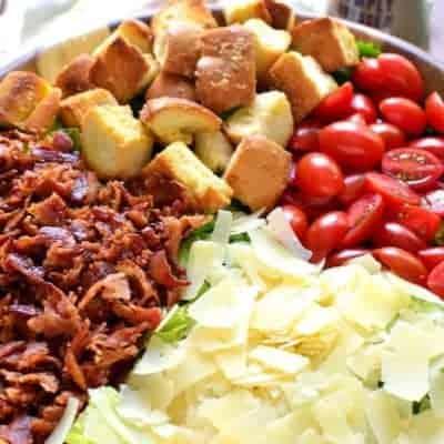 BLT Caesar Salad