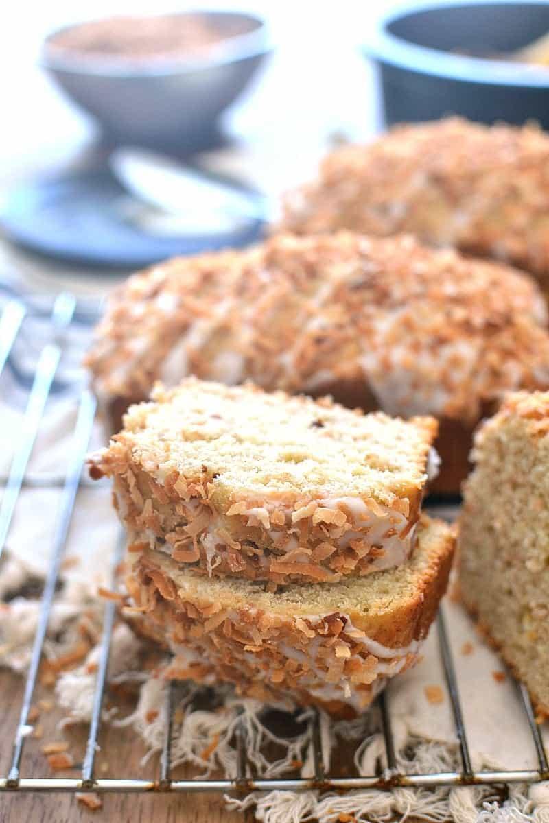 Coconut Rum Banana Bread 2b