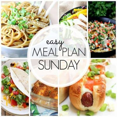 Easy Meal Plan! {Week 46}