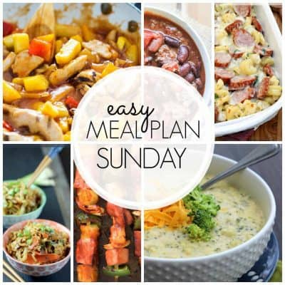 Easy Meal Plan! {Week 45}